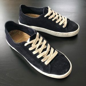 Dolce Vita Navy Suede Sneakers